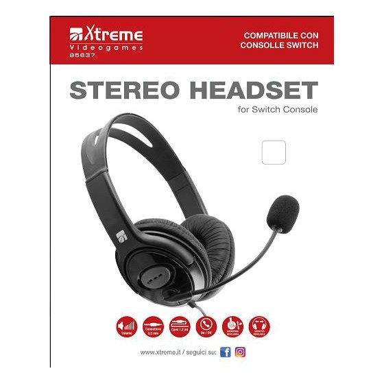 Cuffie Stereo Xtreme - Switch