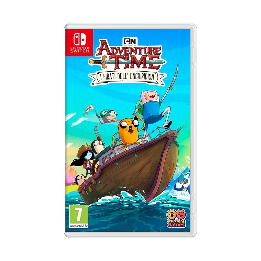 Adventure Time: I Pirati Dell'Enchiridion - Switch