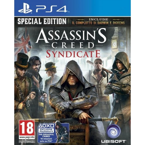 Assassin's Creed Syndicate - PS4 usato