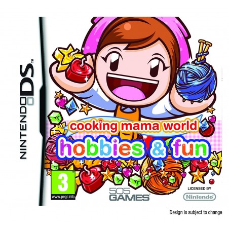 Cooking Mama World Hobbies & Fun - DS