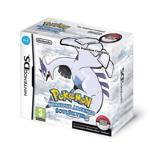 Pokemon Versione Argento SoulSilver+Pokewalker - DS