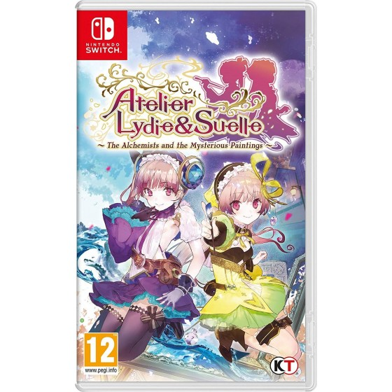Atelier Lydie & Suelle: The Alchemists and the Mysterious Paintings - Switch