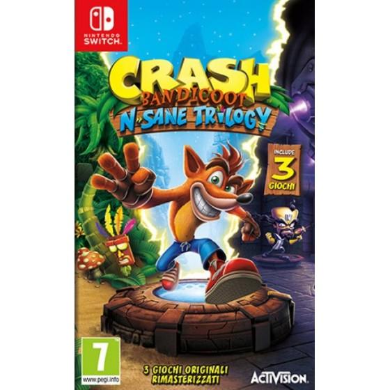 Crash Bandicoot N. Sane Trilogy - Switch