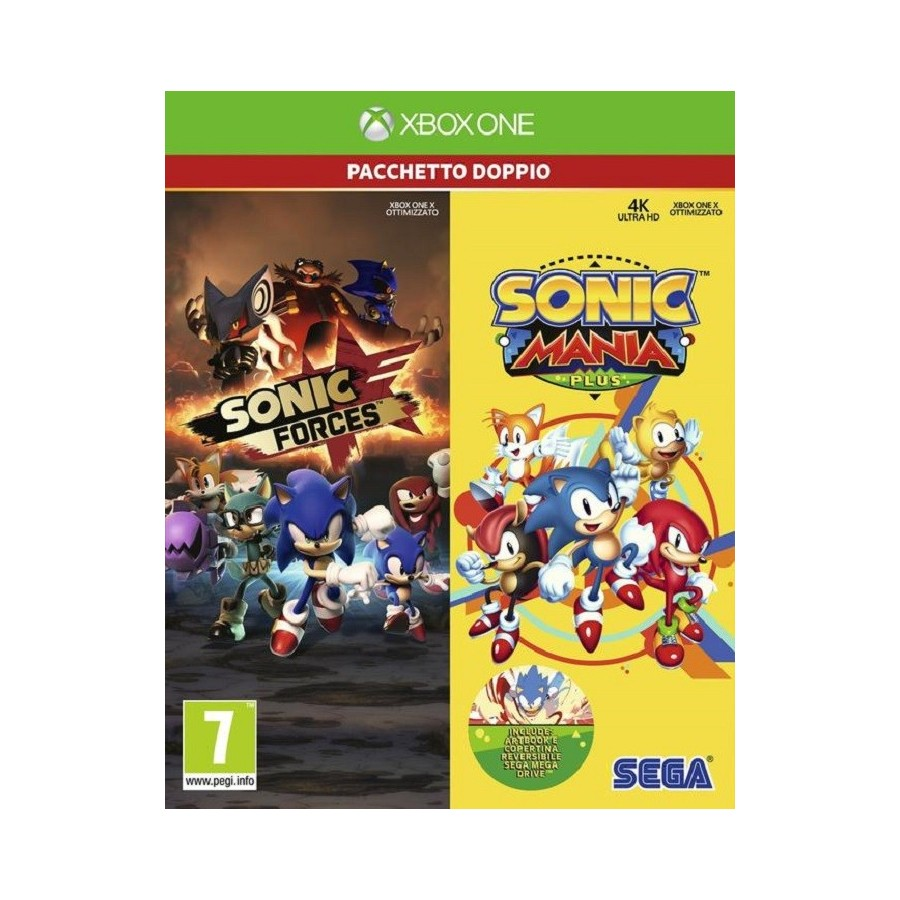 Sonic Forces and Sonic Mania Plus Double Pack
