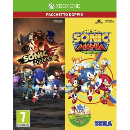Sonic Forces and Sonic Mania Plus Double Pack - Xbox One
