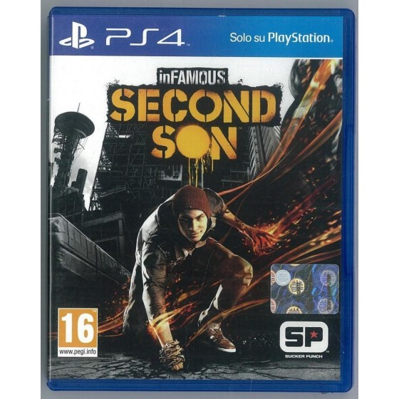 Infamous Second Son - PS4 usato