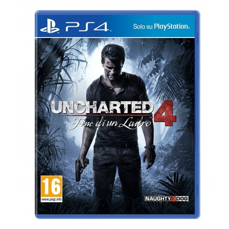 Uncharted 4 - Fine di un Ladro - PS4