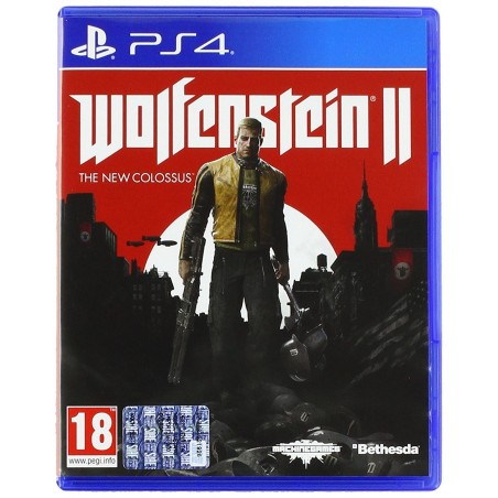 Wolfenstein II: The New Colossus - PS4 usato