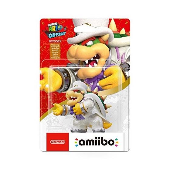 Nintendo Amiibo - Bowser sposo - Super Mario Odyssey