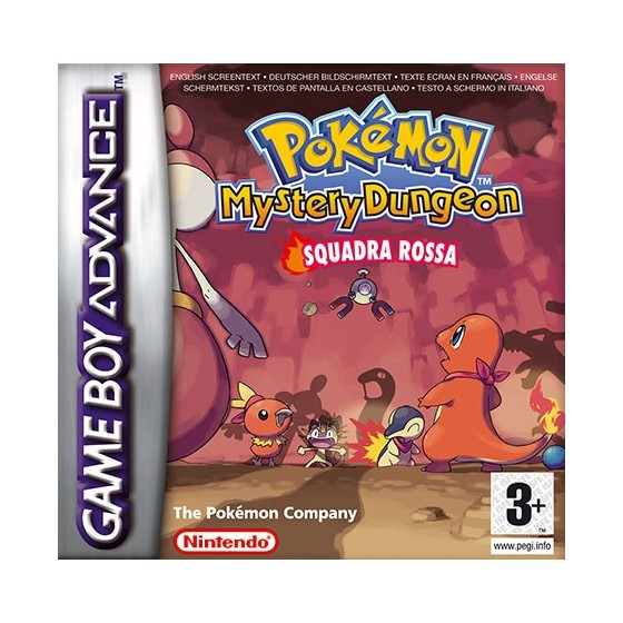 Pokemon Mystery Dungeon - Red Rescue Team - Game Boy Advance