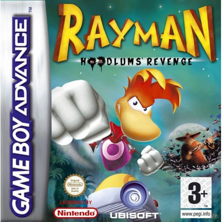 Rayman Hoodlums' Revenge - Game Boy Advance