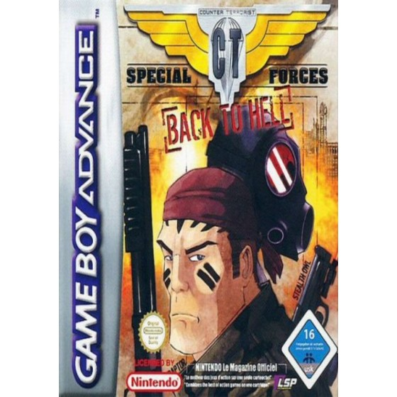 Special CT Forces - Back To Hell - Game Boy Advance