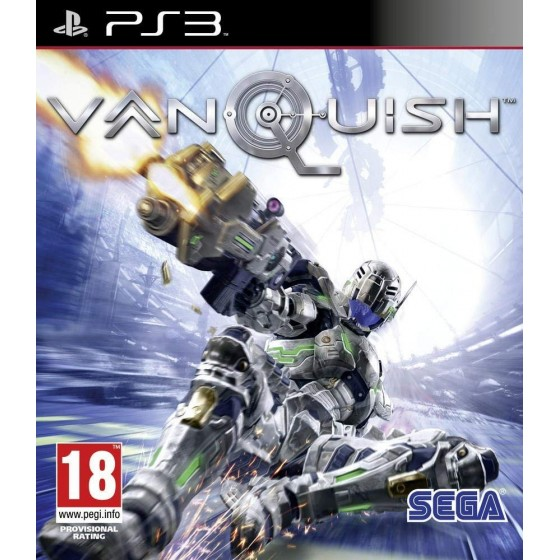 Vanquish - Cover Olografica - PS3