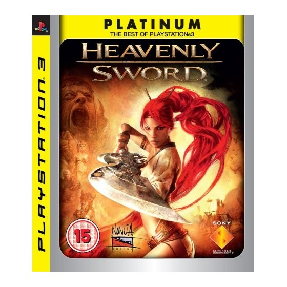 Heavenly Sword - Platinum - PS3