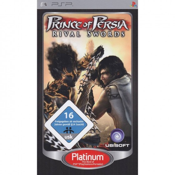 Prince of Persia - Rival Swords - Platinum - PSP