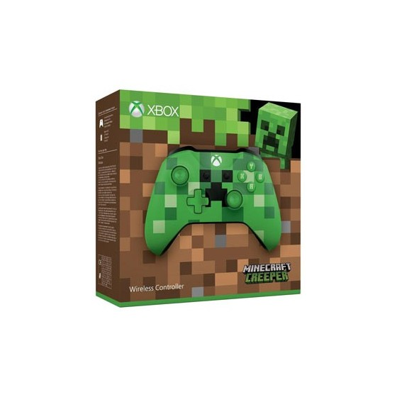Controller Wireless Minecraft - Creeper - Xbox One