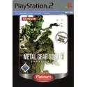 Metal Gear Solid 3 Snake Eater - Platinum - PS2