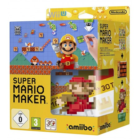 Super Mario Maker + Artbook + Amiibo - WiiU
