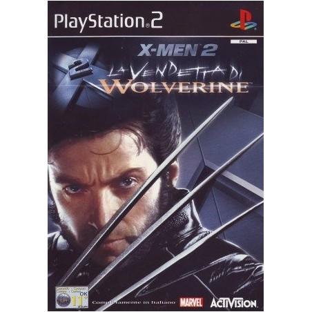 X-Men 2 - La Vendetta di Wolverine - PS2 usato