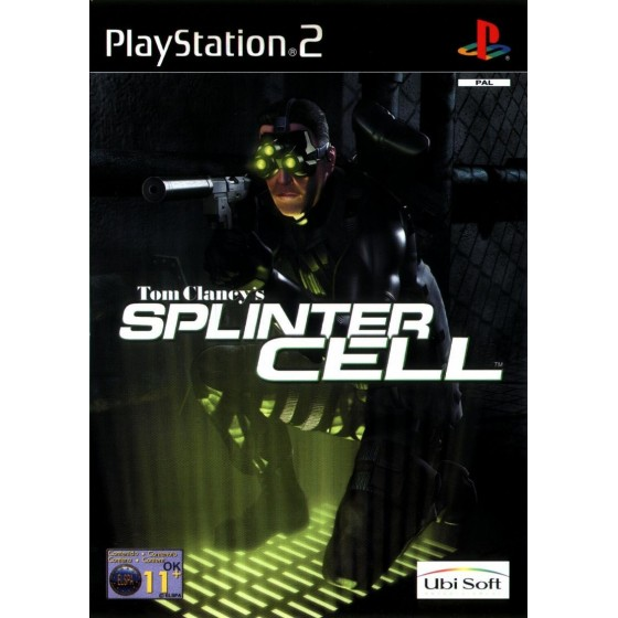 Tom Clancy's Splinter Cell - PS2 usato