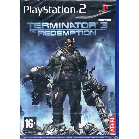 Terminator 3 The Redemption - PS2