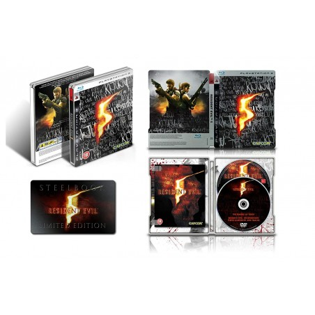 Resident Evil 5 - Limited Edition - PS3 usato