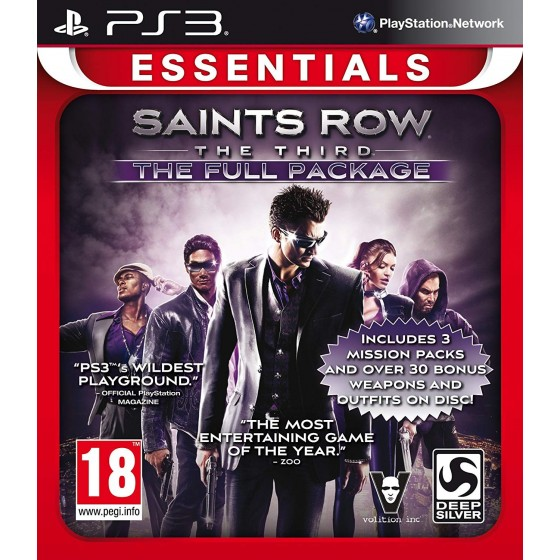 Saints Row The Third - The Full Package - Essentials - PS3