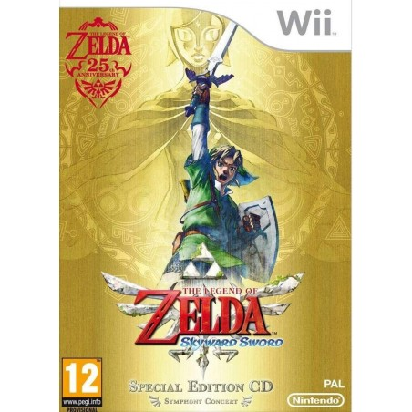 The Legendof Zelda: Skyward Sword - Wii