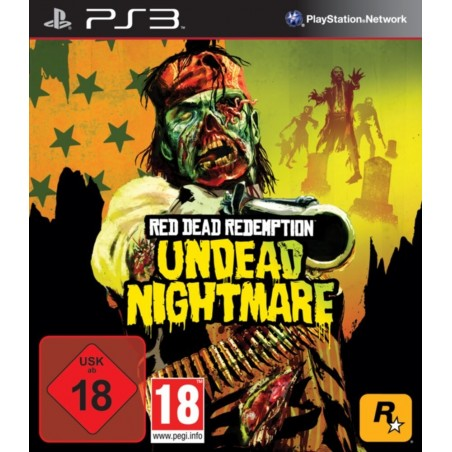 Red Dead Redemption - Undead Nightmare - PS3 usato