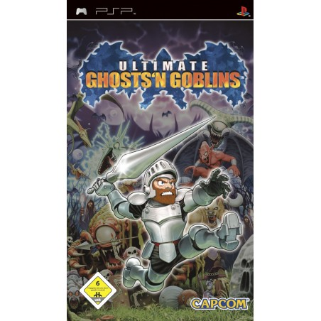 Ultimate Ghosts'n Goblins - PSP usato