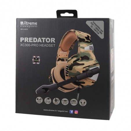 Cuffie Gaming Predator XC300 Pro Xtreme - PS4/ONE/SWITCH