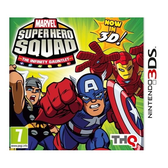 Marvel Super Hero Squad: The Infinity Gauntlet - 3DS