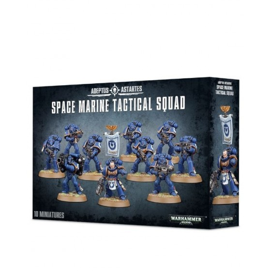 Warhammer 40.000 - Space Marine Tactical Squad - The Gamebusters