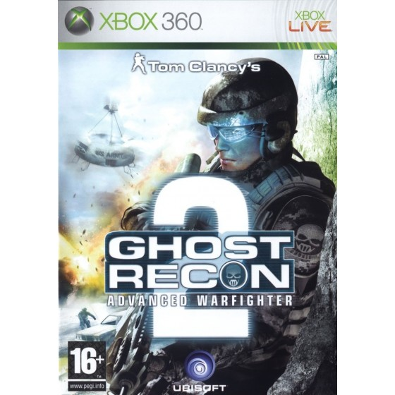 Tom Clancy's Ghost Recon: Advanced Warfighter 2 - Xbox 360 usato