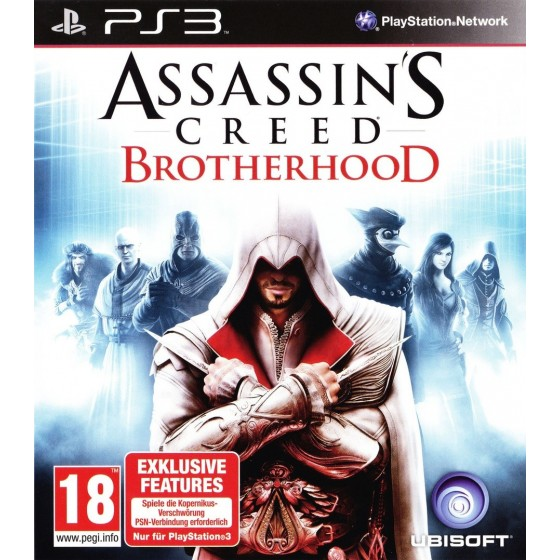 Assassin's Creed Brotherhood - PS3 usato