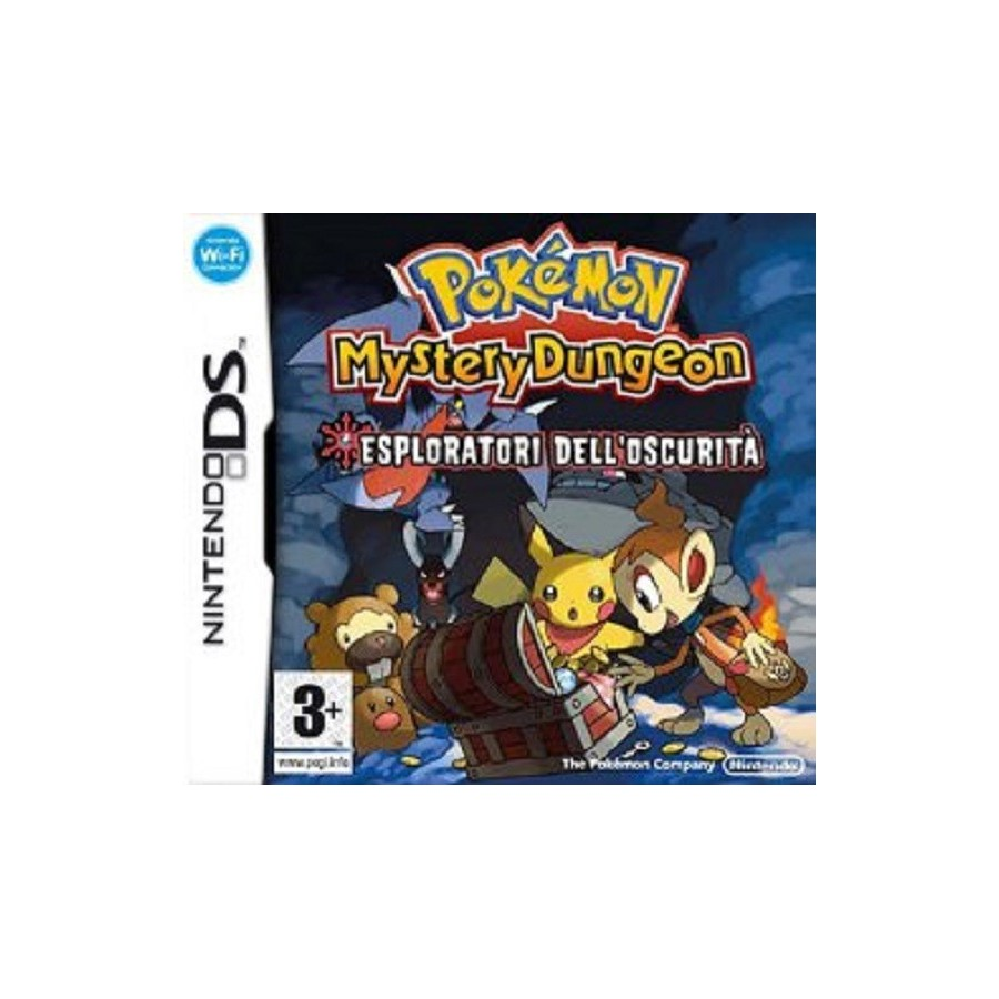 Pokémon Mystery Dungeon: Esploratori dell'oscurità - DS