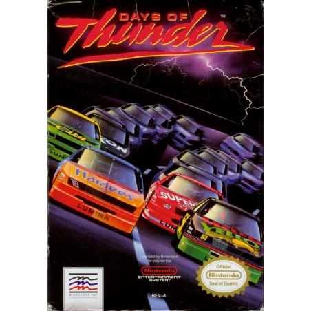 Days of Thunder - NES usato