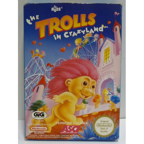 The Trolls in Crazyland - NES