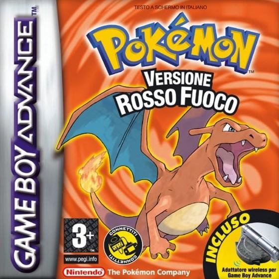 Pokemon Versione Rosso Fuoco - Game Boy Advance