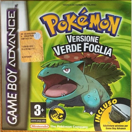Pokemon Versione Verde Foglia - Game Boy Advance