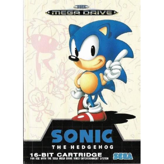 Sonic The Hedgehog - Mega Drive