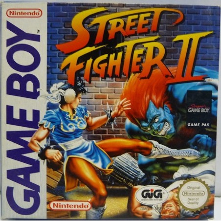Street Fighter 2 - Game Boy