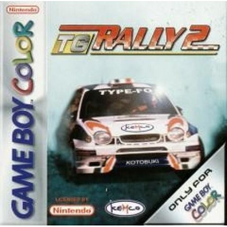 Top Gear Rally 2 - Game Boy Color