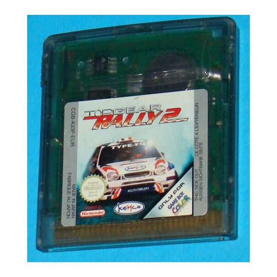 Top Gear Rally 2 - Game Boy Color usato