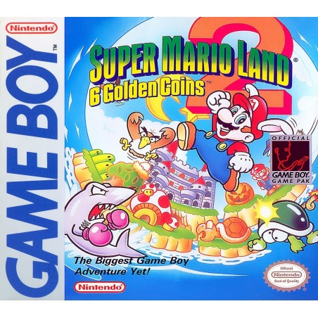 Super Mario Land 2: 6 Golden Coins - Game Boy