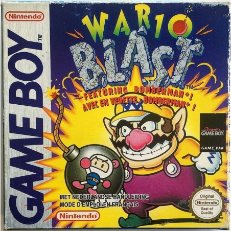 Wario Blast Featuring Bomberman - Game Boy usato