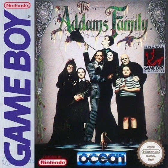 The Addams Family - Game Boy usato