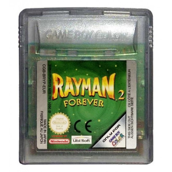 Rayman 2 Forever - Game Boy Color usato