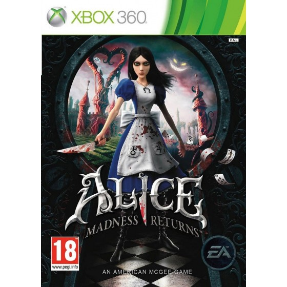 Alice Madness Returns - Xbox 360