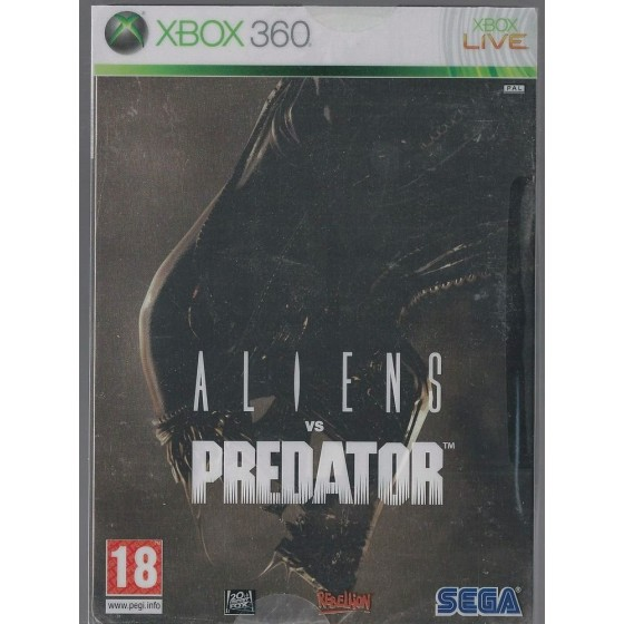 Aliens vs Predator - Steelbook Edition - Xbox 360